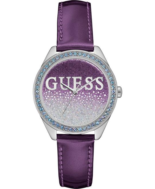 GUESS Trendy Silver-Tone Watch 36mm