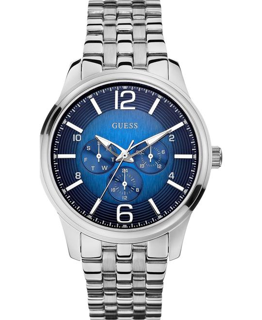 GUESS On Time Men's Watch With Blue Dial 45mm