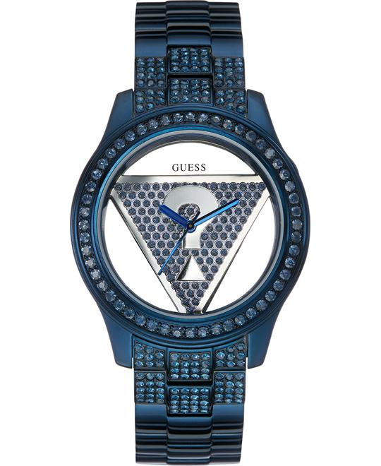 GUESS Floating Iconic Triangle Watch 42mm