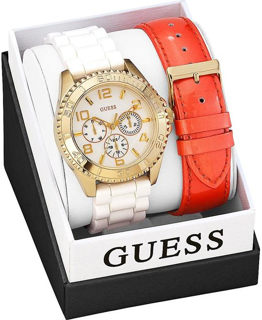 GUESS Feminine Sport Women's Watch Set 40mm