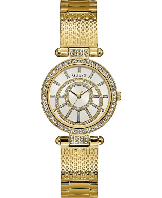 GUESS Women's Gold-Tone Watch 32mm