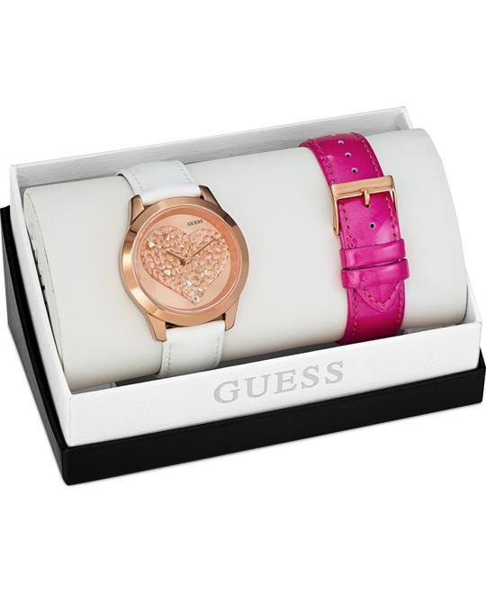 GUESS Interchangeable Women's Watch Set 43mm