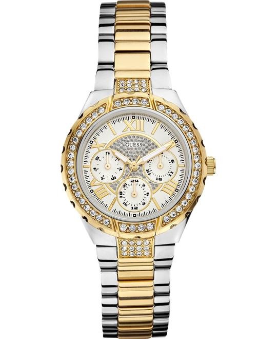 "GUESS ""Sparkling Hi-Energy""  Gold Women's 37mm"
