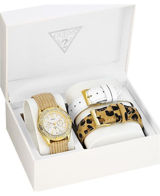 GUESS Interchangeable Women's Watch Set 38mm