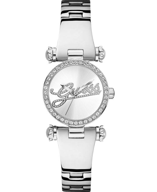 GUESS Iconic Shine & Dazzle Crystal Watch 32mm