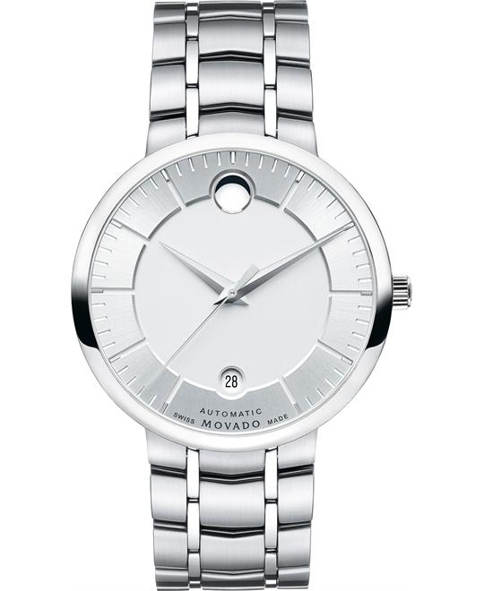Movado 1881 Automatic Silver Dial Watch 39.5mm