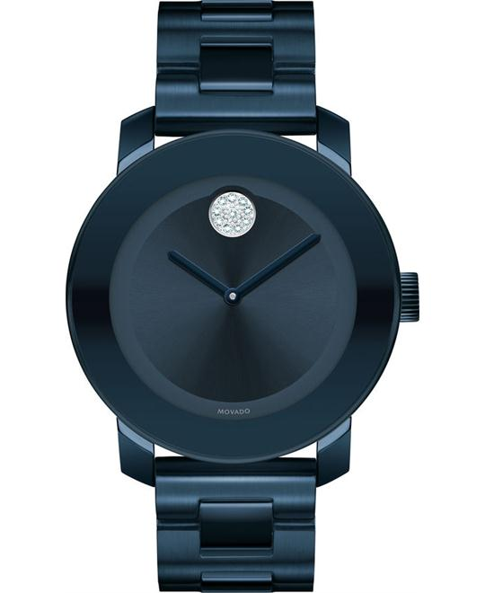 MOVADO Bold Blue Dial Unisex Watch 36mm