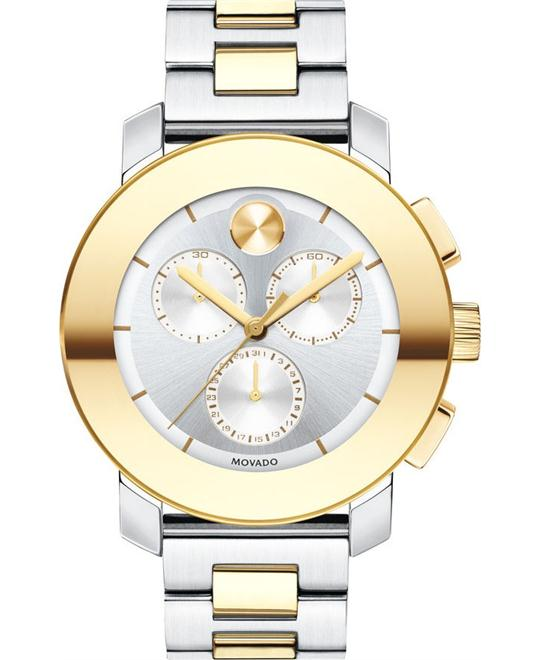 MOVADO Bold Chronograph Two Unisex Watch 38mm