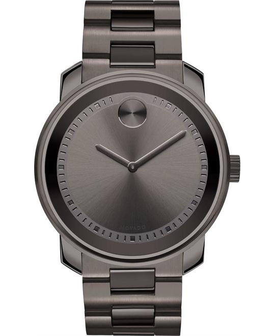 MOVADO Bold Grey Ion-Plated Unisex Watch 42.5mm