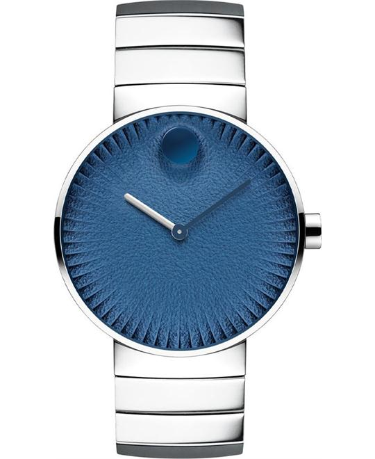 Movado Edge Stainless Steel Watch 40mm