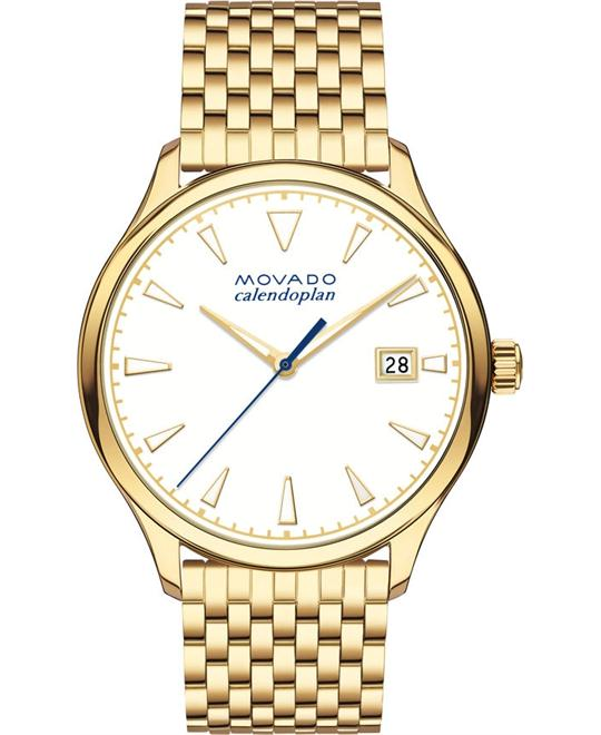 MOVADO HERITAGE SERIES WATCH 36MM