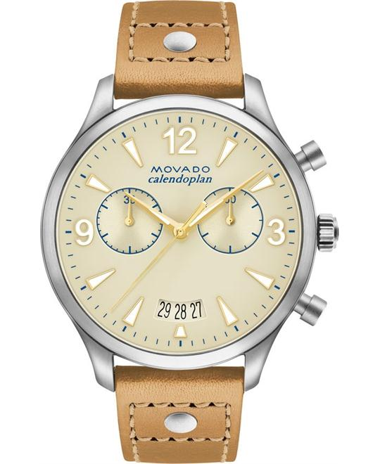 MOVADO HERITAGE SERIES WATCH 38MM