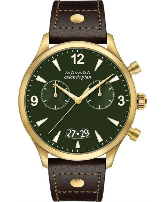 MOVADO HERITAGE SERIES WATCH 45MM