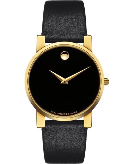 MOVADO MUSEUM MODERNO LADIES WATCH 31MM