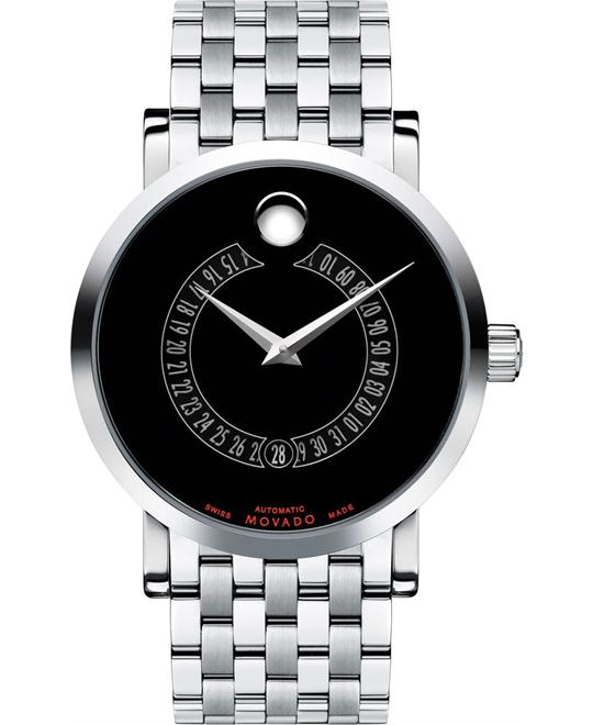 MOVADO Red Label Auto Animated Date Watch 42mm