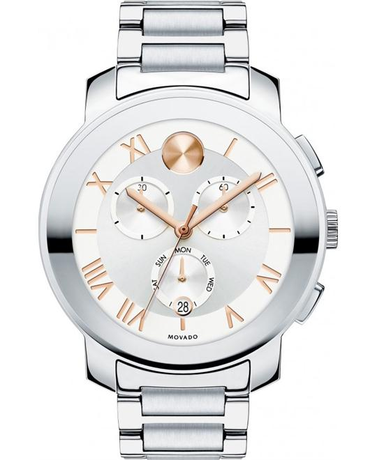 Movado Bold Chronograph Unisex Watch 40mm