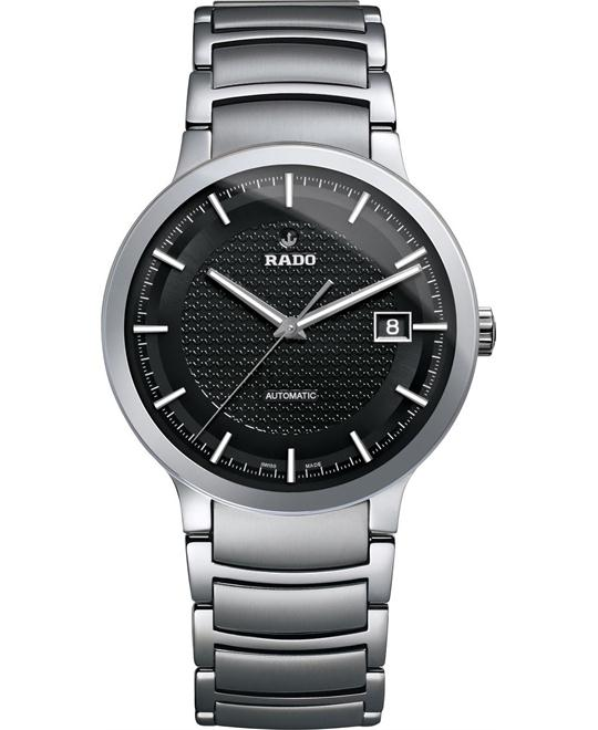 RADO Centrix Automatic Black Men's Watch 38mm