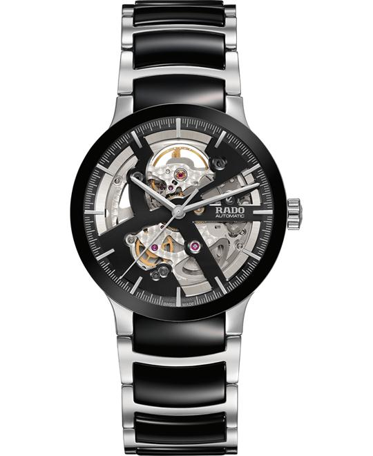 RADO Centrix Skeleton Ceramic Watch 38mm