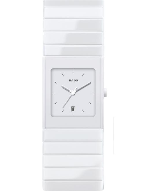 RADO Ceramica White Dial White Ceramic Watch 35mm