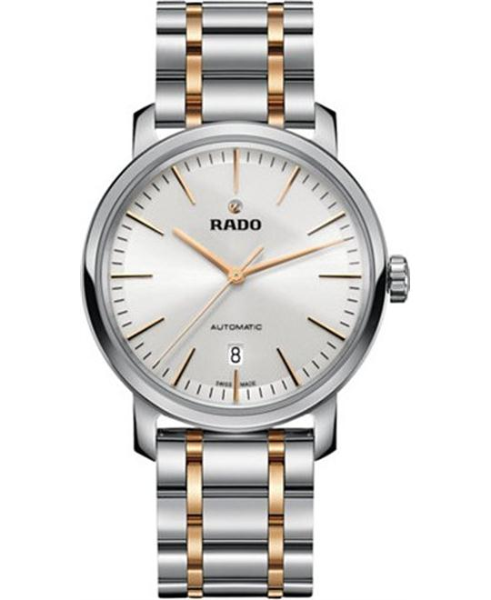 Rado DiaMaster Automatic Silver Watch 41mm