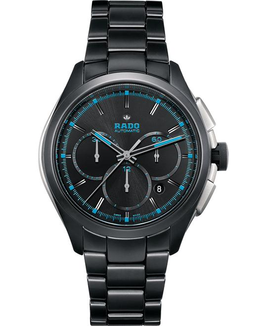 Rado Men's Automatic Chronograph Ceramic Watch 45mm