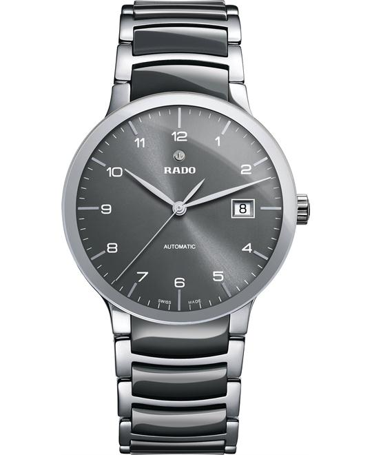 Rado Men's Swiss Automatic Ceramic and Stainless Steel 38mm