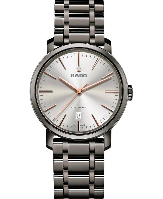Rado Men's Swiss Automatic Ceramic Bracelet Watch 41mm