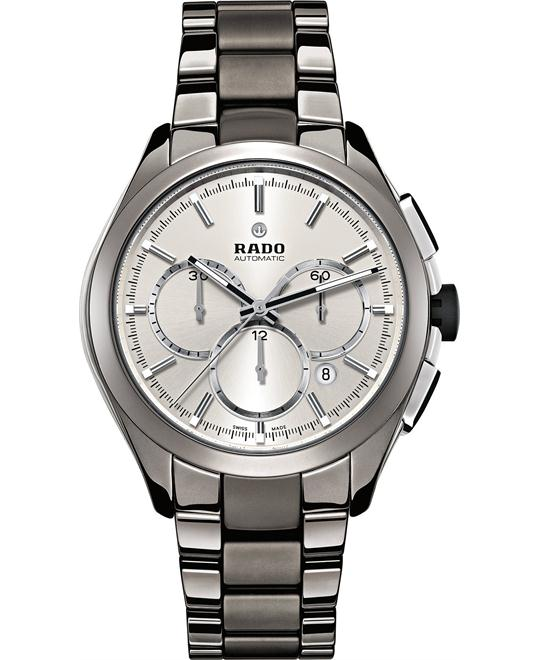 Rado Men's Swiss Automatic Chronograph Ceramic Watch 45mm