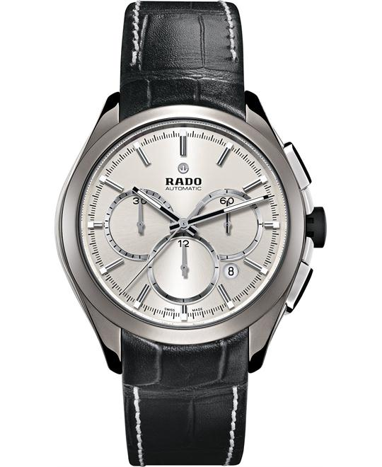 Rado Men's Swiss Automatic Chronograph Leather Strap 45mm