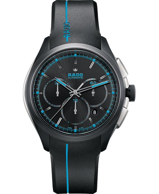 Rado Men's Swiss Automatic Chronograph Rubber 45mm