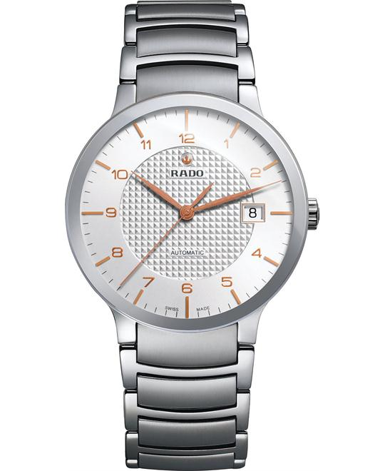 Rado Men's Swiss Automatic Stainless Steel Watch 38mm