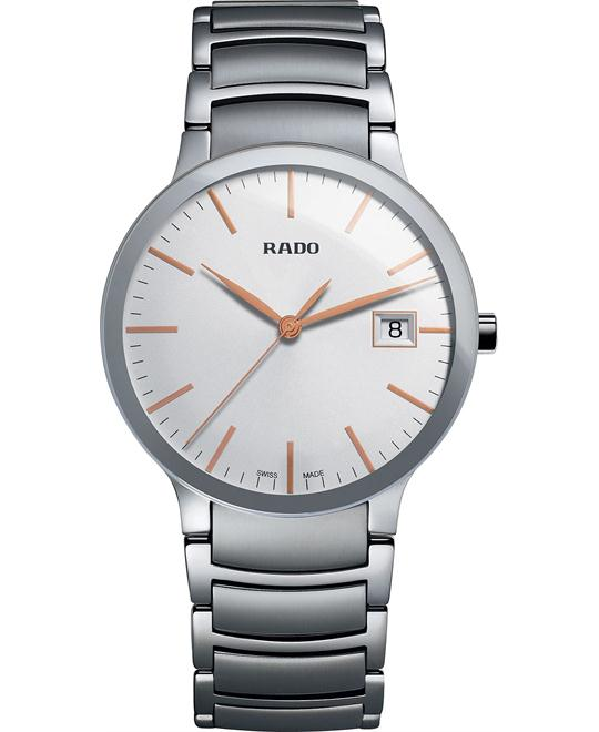 Rado Men's Swiss Centrix Watch 38mm