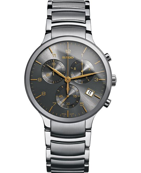 Rado Men's Swiss Chronograph Centrix Watch, 40mm