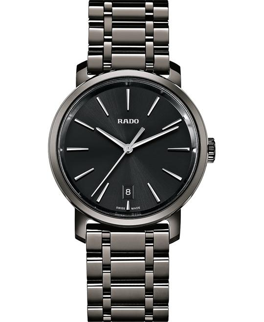 Rado Men's Swiss High-Tech Ceramic Bracelet Watch 40mm