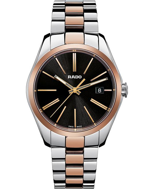 Rado Men's Swiss Rose Gold-Tone Ceramos® Watch 39mm