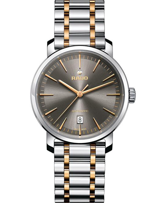 Rado Men's Swiss Stainless Steel Bracelet Watch 41mm