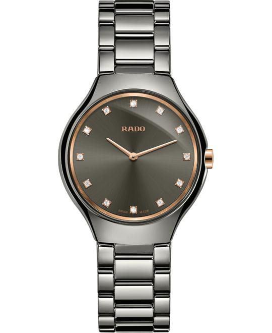 Rado True Thinline Diamonds Watch 30mm