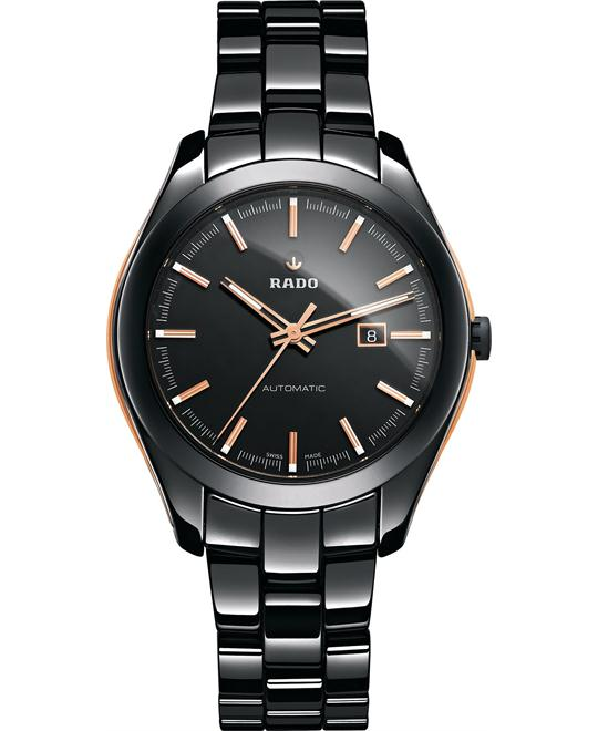 Rado Unisex Swiss Automatic Black Ceramic Watch 36mm