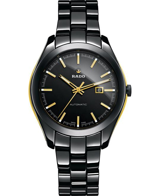 Rado Unisex Swiss Black High-Tech Ceramic Bracelet 36mm