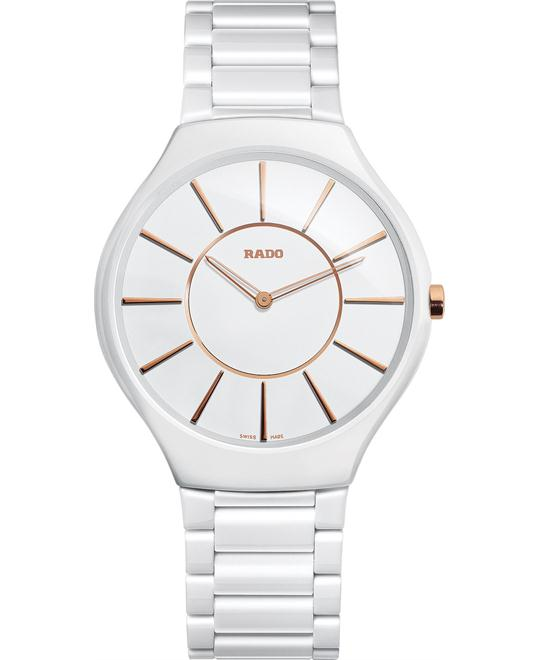 Rado Unisex Swiss High-Tech Ceramic Bracelet Watch 39mm