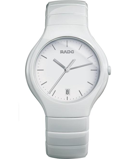 Rado Unisex Swiss White Ceramic Bracelet Watch 41mm