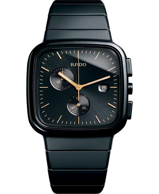 Rado Watch, Chronograph r5.5 Black Ceramic 36mm