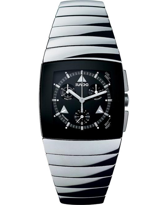 Rado Watch, Men's Black Chronograph- Ceramic