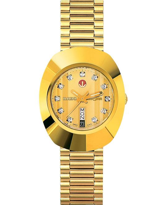 Rado Watch, Men's Original Gold, 43mm
