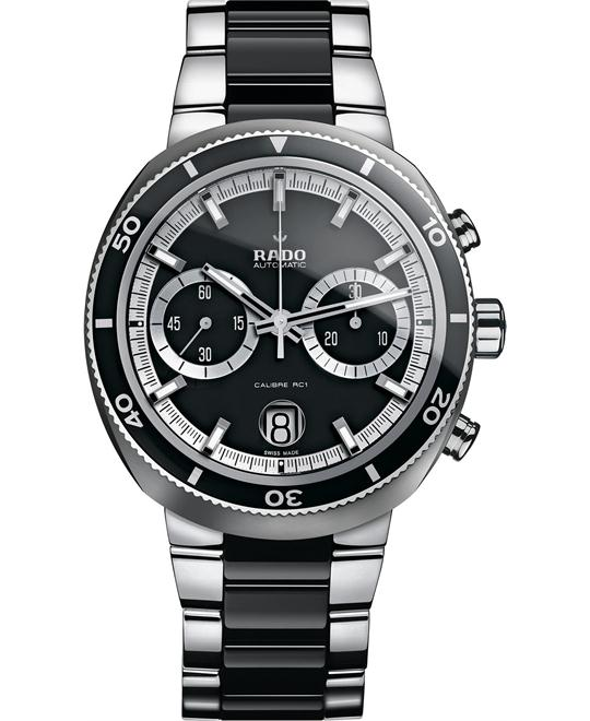 Rado Watch, Men's Swiss Automatic Stainless Steel 44mm