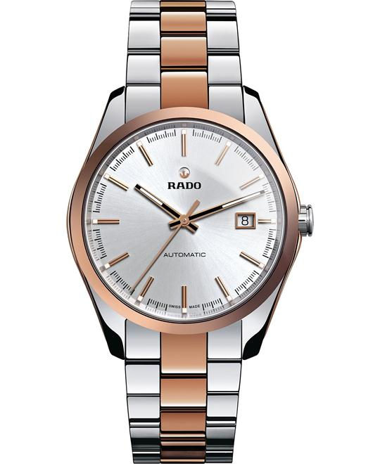 Rado Watch, Men's Swiss Rose Gold-Tone Ceramos®, 40mm