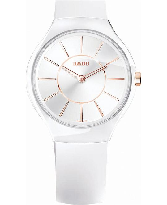 Rado Watch, Women's Swiss True Thinline White 39mm