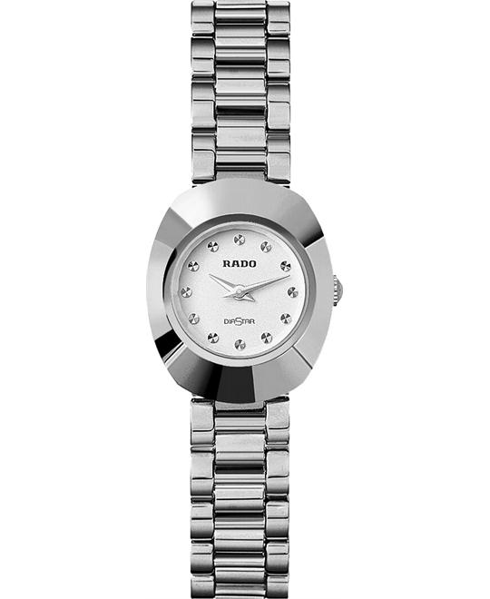 Rado Women's Original White Stainless steel Bracelet 21mm