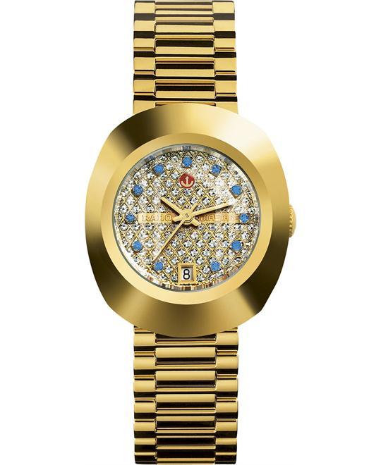 Rado Women's Swiss Automatic Gold Stainless Steel 27mm