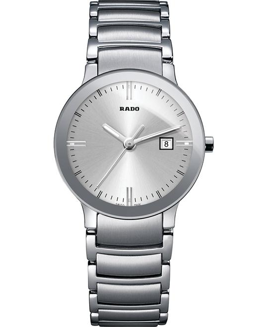 Rado Centrix Swiss Stainless Bracelet Watch 28mm